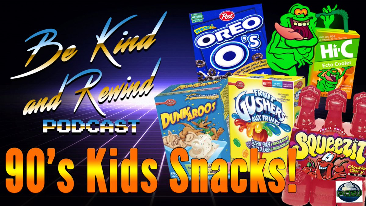 New! This episode, we&#39;re talking about our Favorite, Forgotten and Revival Worthy #90s Kids Snacks! Tune in!  https://www. spreaker.com/episode/133449 59 &nbsp; … <br>http://pic.twitter.com/Cj11nU7NbU
