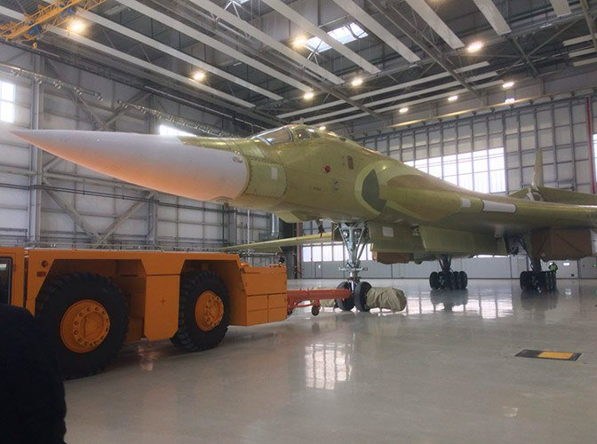 Russia rolls out new Tu-160M2 supersonic strategic bomber
