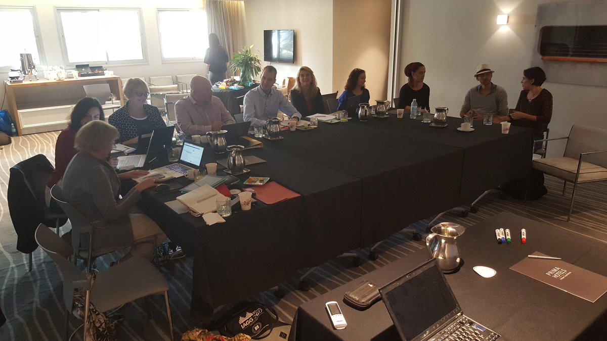 Our new @ITNEuroAgeism had its kick-off meeting in Tel Aviv today - recruiting 15 early-stage researchers soon @ASC_LiU @liu_universitet #ageing #ageism #age #discrimination #h2020 #MSC<br>http://pic.twitter.com/cotKBFe7eW