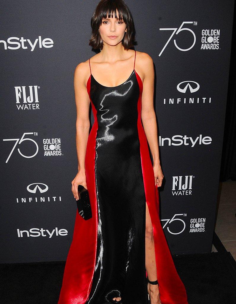#People Nina Dobrev dévoile son nouveau look à la soirée des Golden Globe Ambassador https://t.co/xhtZOTY54i
