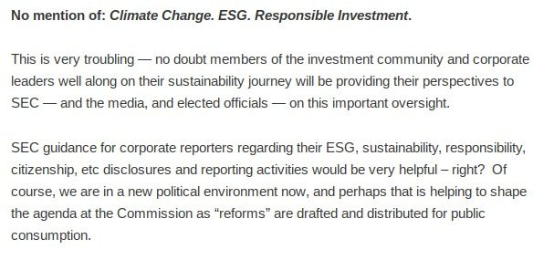 SEC Proposes Important Amendments to Corporate Disclosure & Reporting – Changes Are in the Wind — But Corporate ESG Disclosure Is Not Addressed in the SEC Proposals    https://t.co/2DBGcrD8Wk