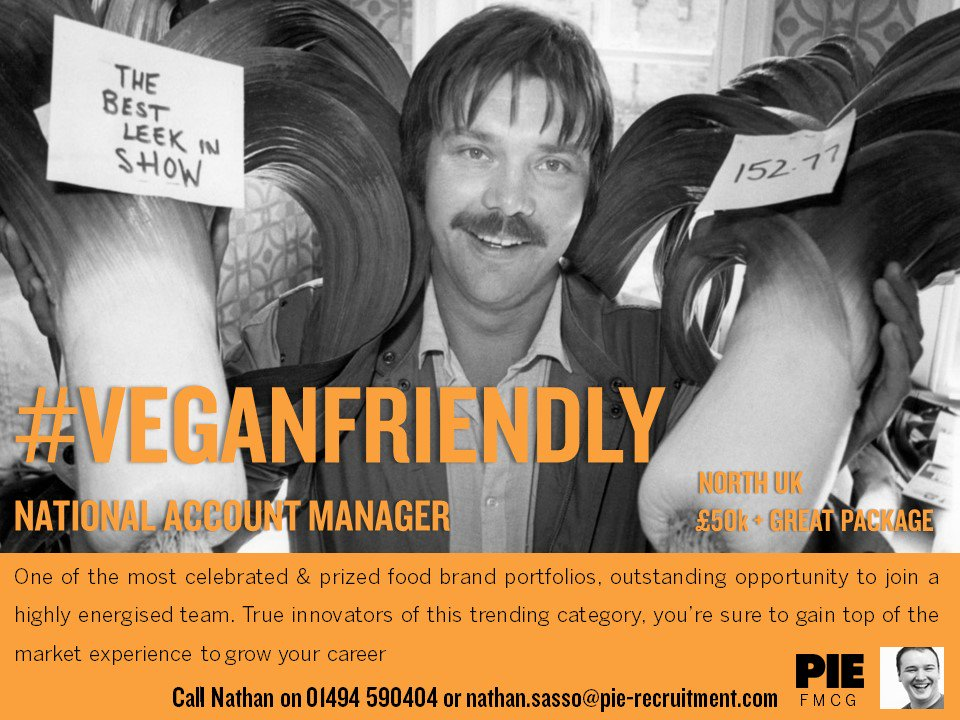 A #Healthy Eating #sales opportunity with a #veganfriendly business! Contact our #FMCG team &amp; be the best in show &gt;&gt;  http:// bit.ly/2zMwNQw  &nbsp;   #vegetarian #Food<br>http://pic.twitter.com/Wh7FnCkYVM