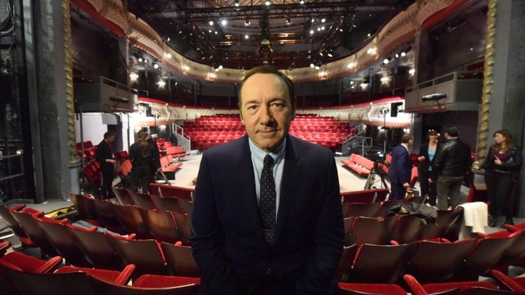 London's @oldvictheatre received 20 allegations of inappropriate behaviour by Kevin Spacey while he was the theatre's artistic director https://t.co/JwaOds4Mww