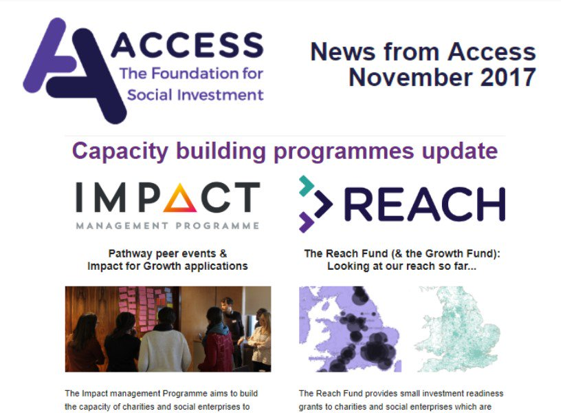 test Twitter Media - Our November newsletter includes the latest on the @connectfund, @Access_Impact Management Programme & the #ReachFund @TheSocialInvest - read & subscribe here https://t.co/QmPxj8ILhS #socinv #socent https://t.co/pS0bMukETz