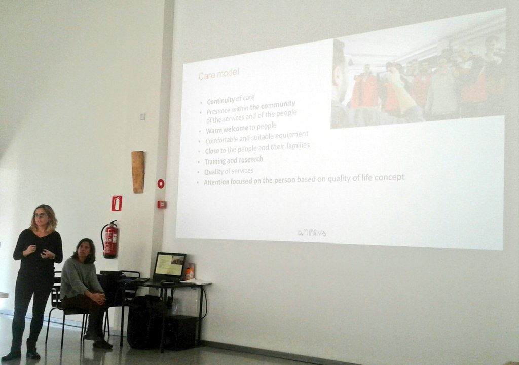 We&#39;ve come a long way since Sparta... Presentation of @Ampans #socialentrepreneurship for @runinproject. #careprovision  for #vulnerable populations<br>http://pic.twitter.com/rnpBeOnvwg