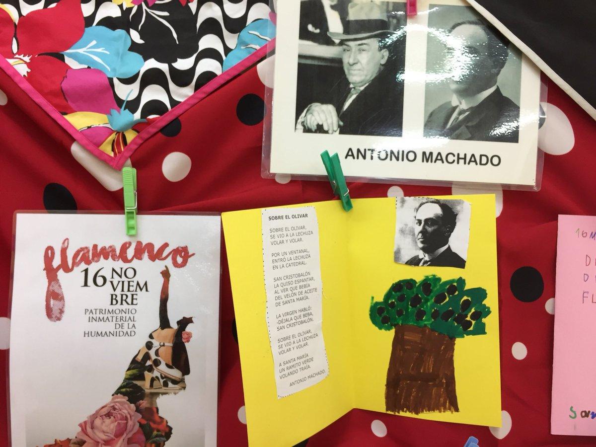 Ceip Antonio Machado On Twitter El Flamenco Y Antonio