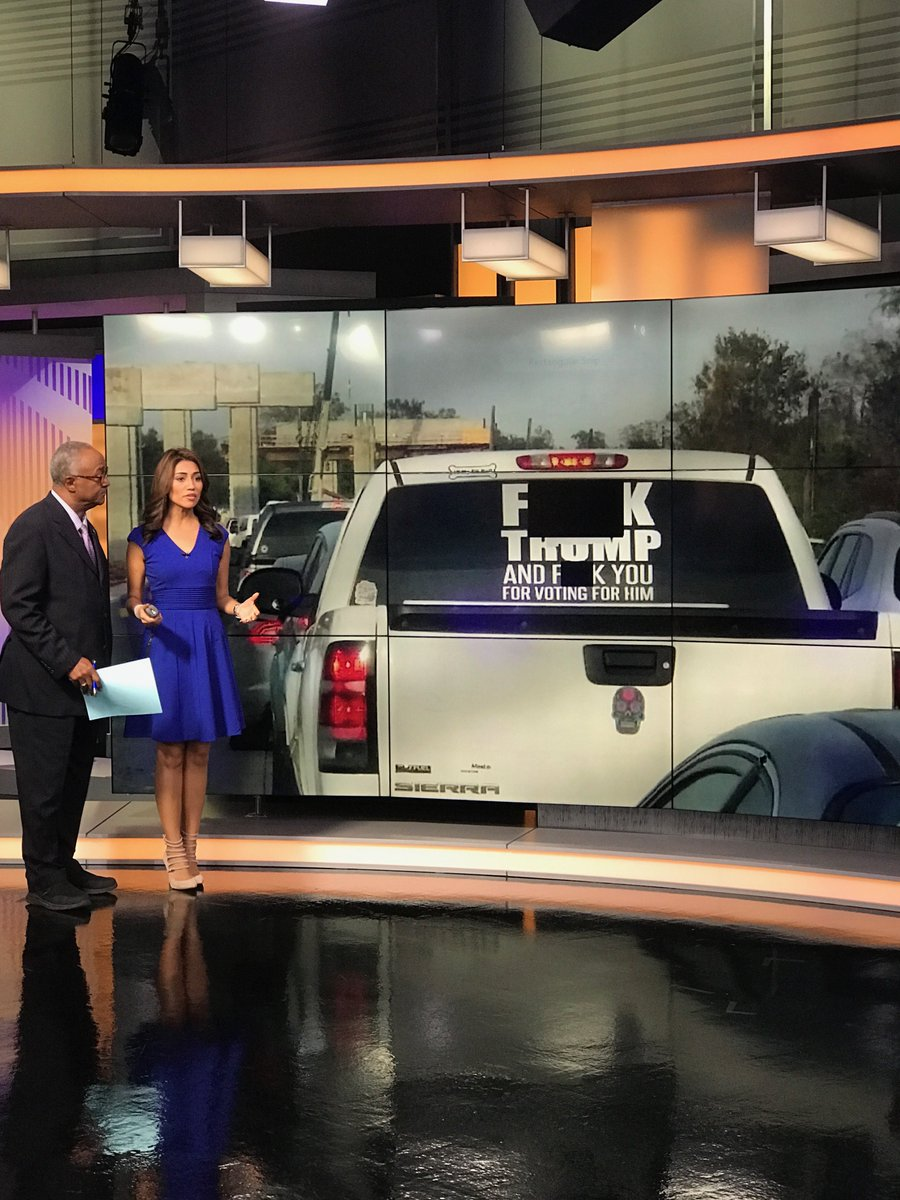 A #Houston resident plasters opinion of #PresidentTrump on back window of her vehicle; courts settles on disorderly… https://t.co/Zl23y5smTi