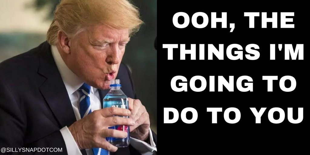 How to make #love to your #waterbottle . . . #TrumpWater #TrumpWaterbottle #marcorubio #whodrankitbetter #tinyhands #trumpmemes<br>http://pic.twitter.com/Kf9xggzx05