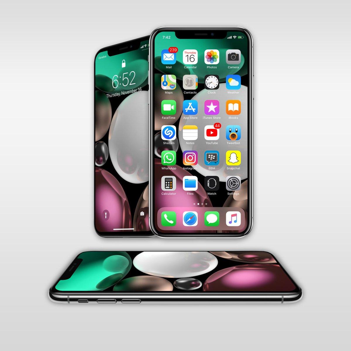 ع ـدنـان الفارسي On Twitter Today S Setup Iphone X
