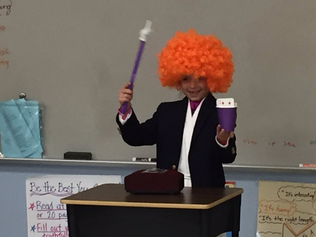 3rd grade is MAGIC!Can&#39;t wait to see the audience reaction on Tuesday! #abracadabra #SpecialPersonsDay @MariemontSchool<br>http://pic.twitter.com/s54QOnhdXX
