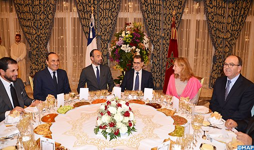 HM the King Offers Dinner in Honor of French Prime Minister #France #Morocco #ÉdouardPhilippe   http:// bit.ly/2AMtZ59  &nbsp;  <br>http://pic.twitter.com/C3phsOmABF