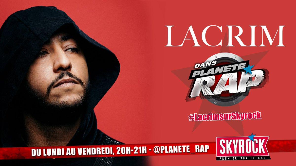 📀 #RIPRO3 de @Lacrim_Officiel est disponible depuis hier, viens le découvrir en live dans @Planete_Rap dès lundi 🔥👊 #LacrimsurSkyrock #20h21h