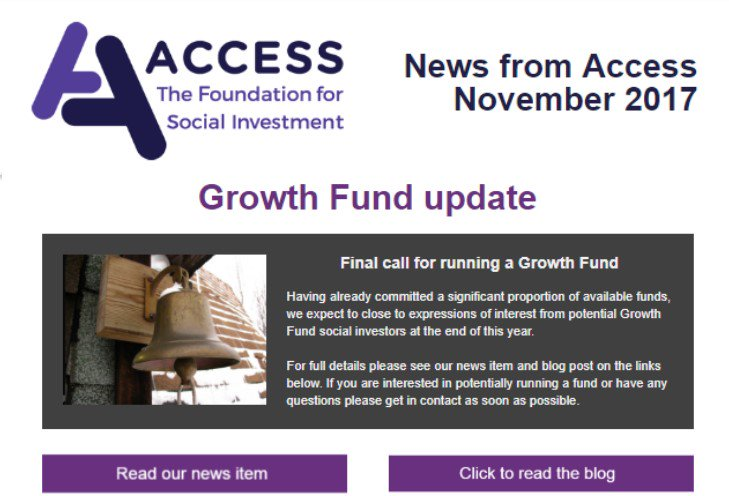 test Twitter Media - Our November newsletter includes the latest on the #GrowthFund - new funds launched by @UnLtd & @devoncf and our final call for running a fund https://t.co/QmPxj8ILhS #socinv @BigSocietyCap @BigLotteryFund https://t.co/Qsv7JAZO5e