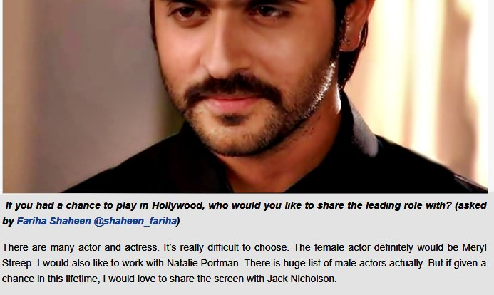 Hollywood actor and actresses Ashish likes to act with.. #MerylStreep #NataliePortman #jacknicolson  @ashish30sharma #AskAshish<br>http://pic.twitter.com/xTgDzwzO8L