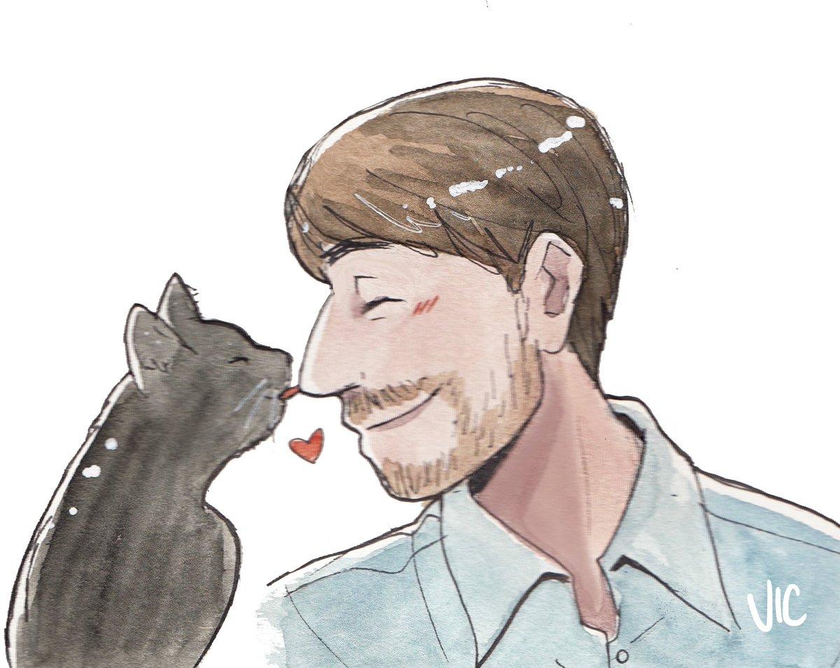 Hector deserves all the gentlest of kitt...