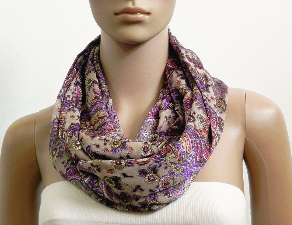 Purple Floral Infinity Scarf Shawl Beige Fashion Scarves for Women Tube Scarf #giftideas #handmade #etsy #etsymntt #etsyshop #buynow #shopping #gifts #giftspiration #EtsyGifts #etsyseller #BlackFriday2017  https://www. etsy.com/listing/567271 945 &nbsp; … <br>http://pic.twitter.com/O9yFrk6bcg