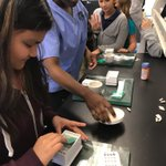 Compounding smarties! @LWTechCollege @blackbearsroar @collierschools #CCPSSUCCESS