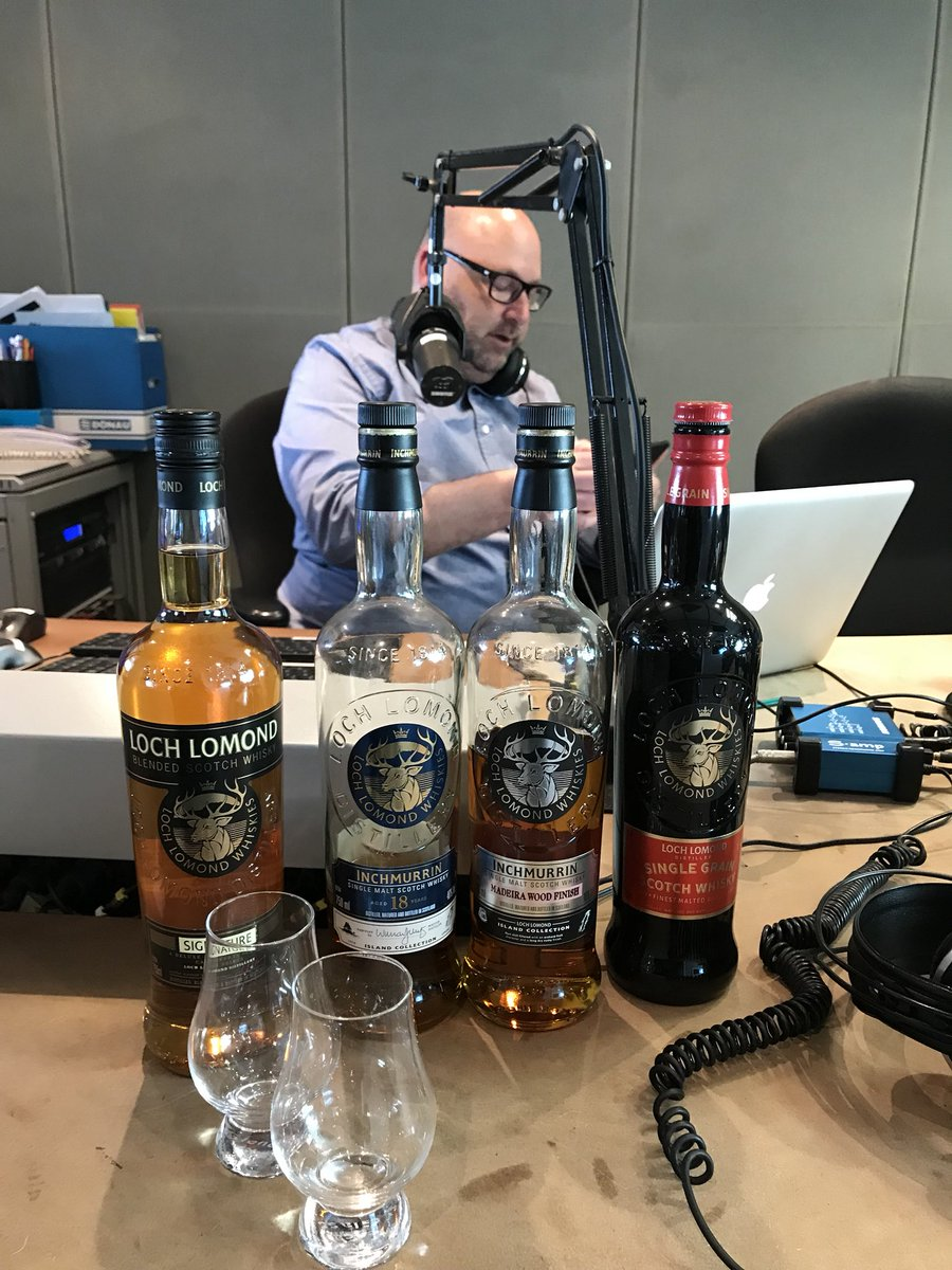 Thank you Howard @chaifm talking @LochLomondMalts #whisky #NeverFollow <br>http://pic.twitter.com/uwqRg9nP8t