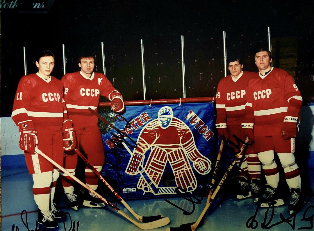 0e795320c Viacheslav Fetisov was a dynamic D-man with the  shootertutor  CSKA  Moscow  Soviet National team  russia  cccppic.twitter.com 5r6ylCIm2i