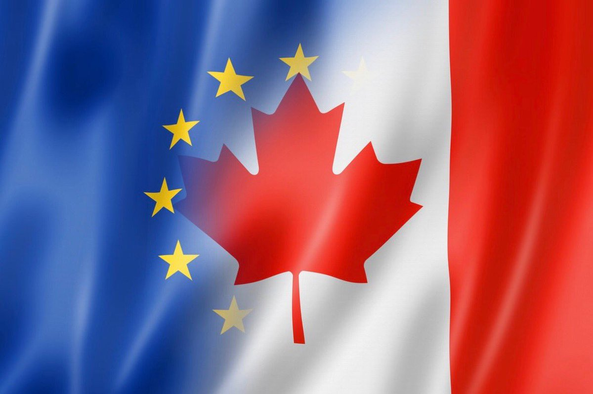 Arrived in Ottawa. With the new CETA free trade agreement Canada and EU are moving closer together.