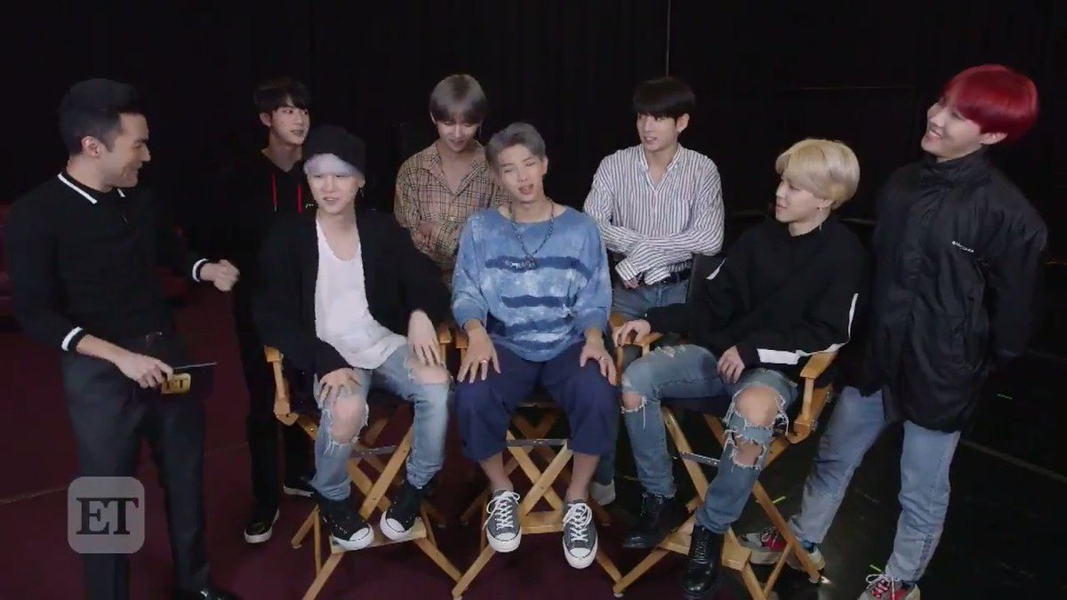 .@BTS_twt answers fans' biggest burning questions! https://t.co/uQU9WdvkMF