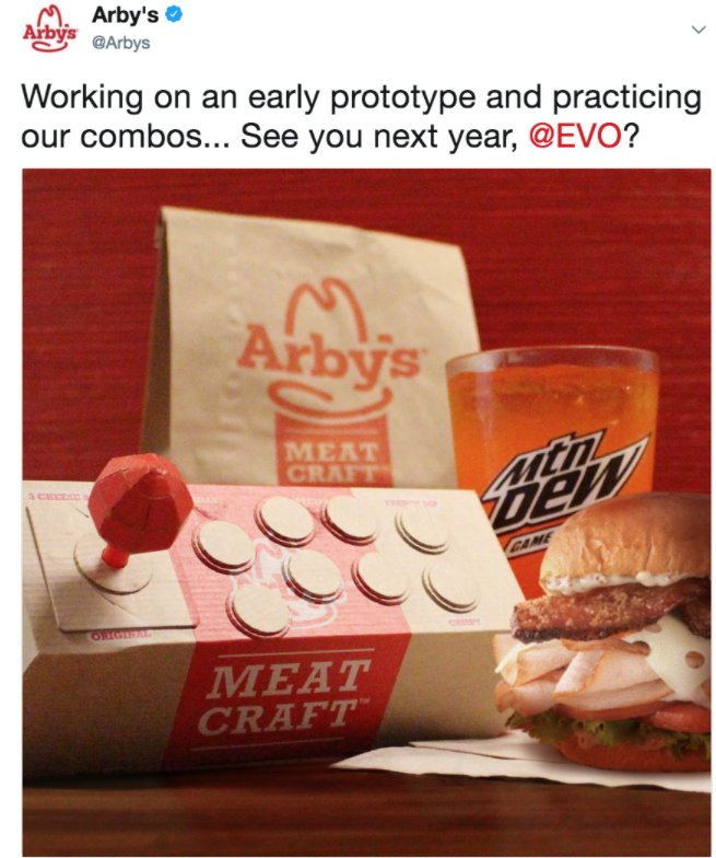 TBT to the time @Arbys recognized how gr...