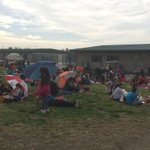 Family picnic - Orange Grove style. Welcome to our families.