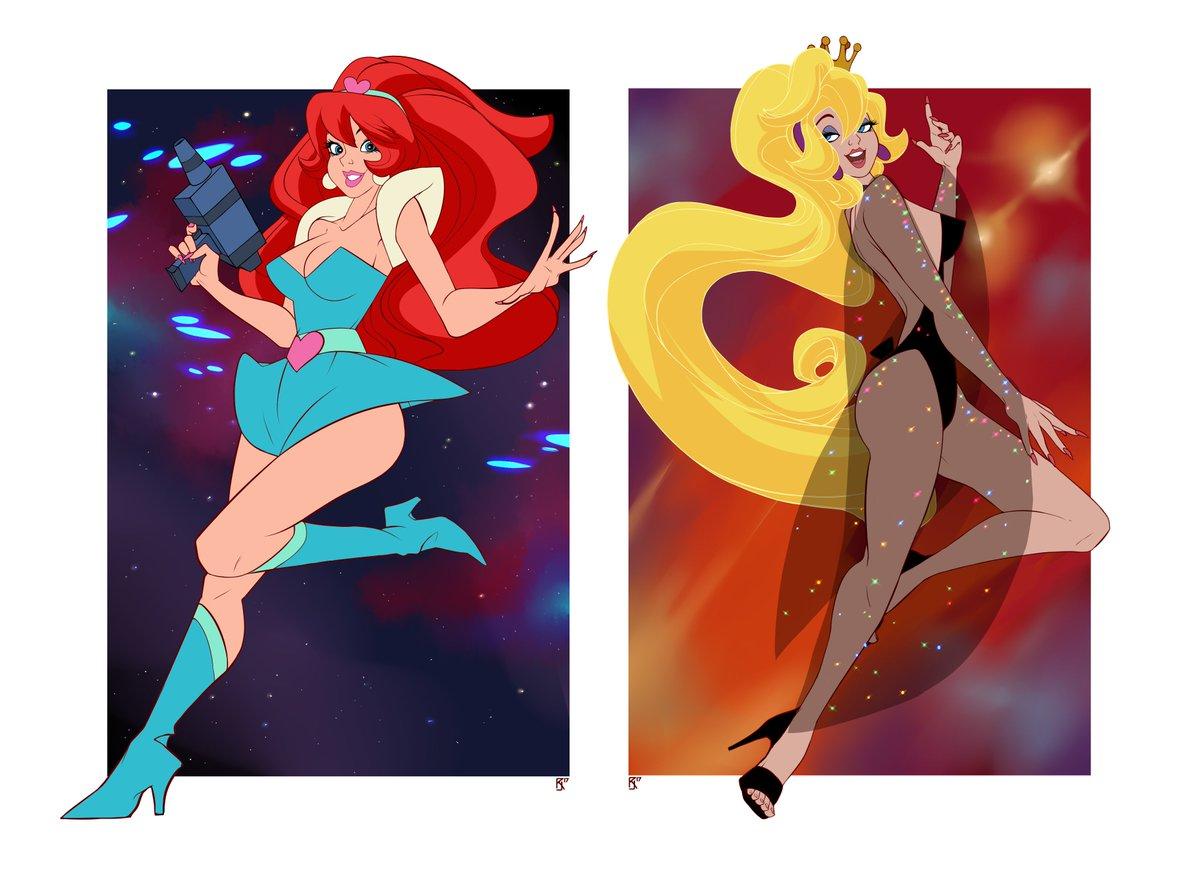 Famous cartoon redheads