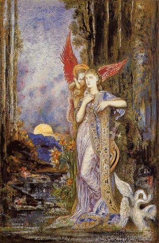 Artwork: Peinture&gt; Gustave MOREAU Inspiration--  http:// bit.ly/2j1asH7  &nbsp;   #peintures <br>http://pic.twitter.com/Cnw3OcDHU7