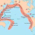 90% of the world's earthquakes happen in the ring of fire