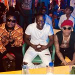 Left to right @wizkidayo @cdqolowo