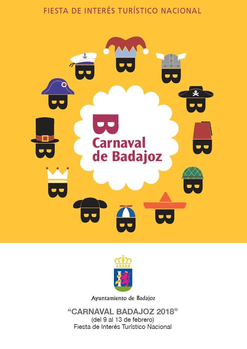 Carnaval de Badajoz 2018 Inscripciones y Bases de los Concursos de Carnaval https://t.co/pTFCSXtD55 https://t.co/eKX8WSkIaQ