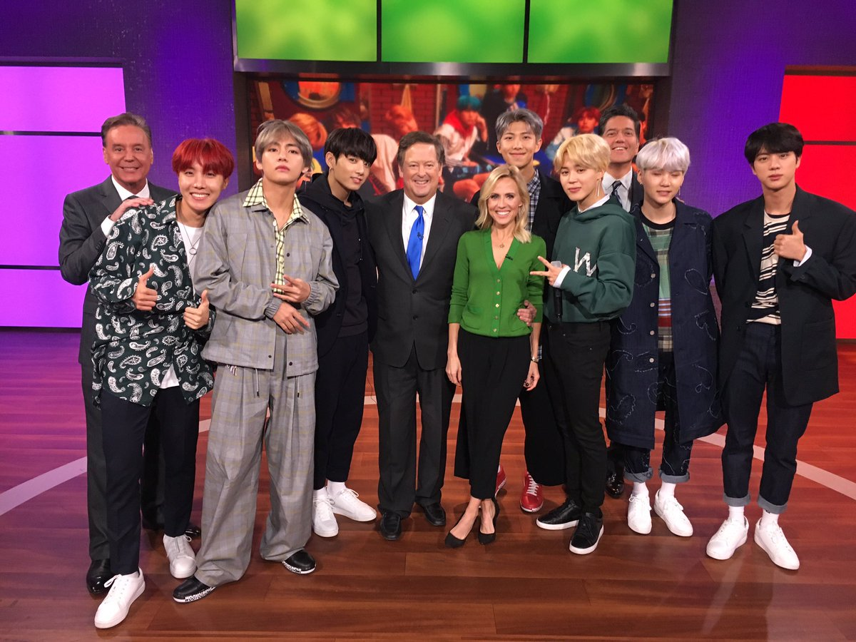Pleasure to meet these young guys! Welcome to LA @BTS_twt !