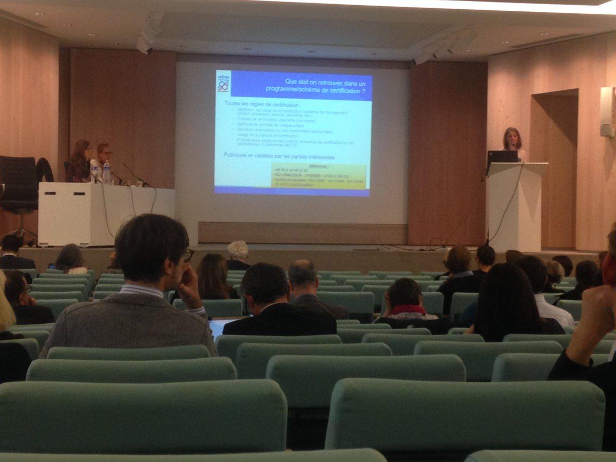 8ème Forum Accréditation & #Certifications du @Cofrac_officiel à la @FIAPCultureS
