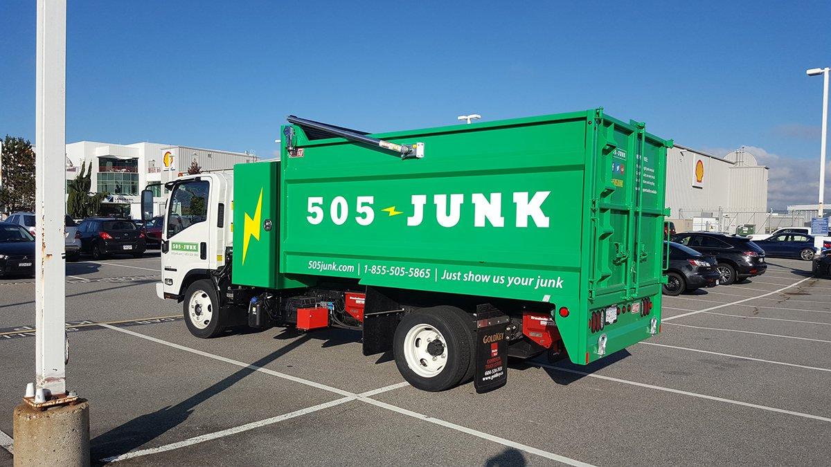 Image result for 505 junk truck