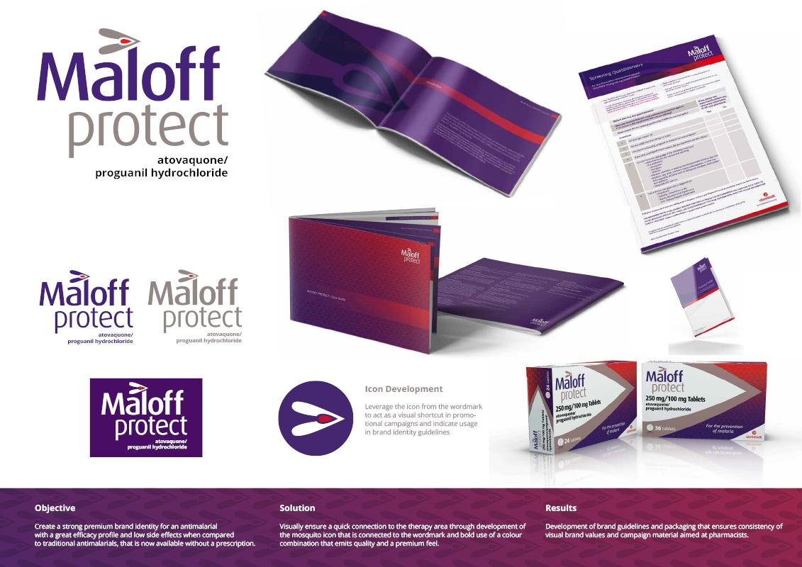 0f7fc1a98cf Maloff Protect wins awards of excellence for Brand Identity and Package  Design at the Rx Club Show in New York. Congrats