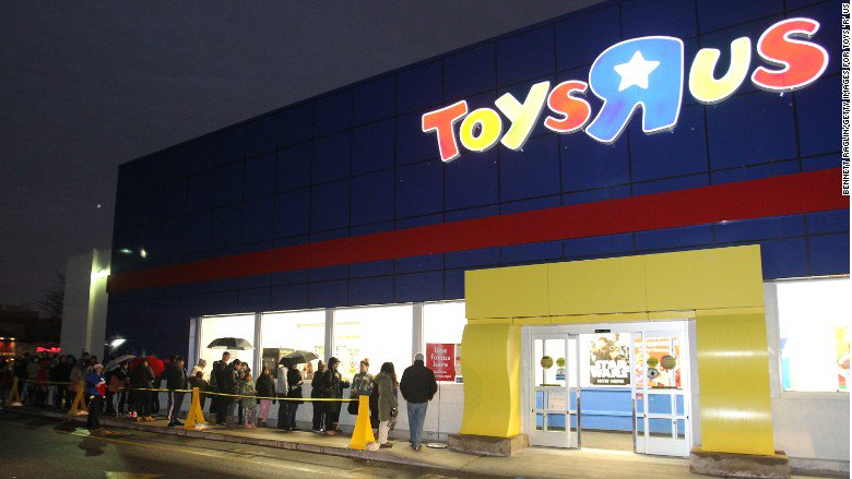 Bankrupt Toys 'R' Us wants to doll out $16 million in bonuses to its executives https://t.co/aK2vKJrrdB
