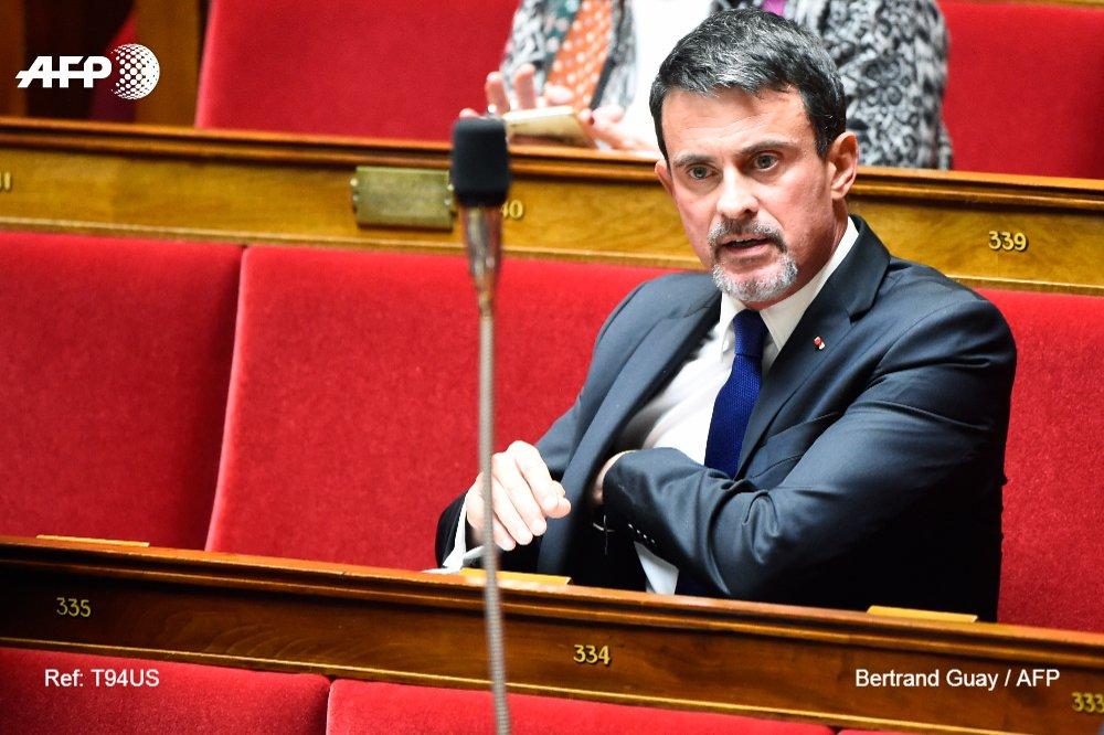 Manuel Valls pilonne sur ses thèmes de prédilection, au risque de l'outrance et de l'isolement https://t.co/F8IugfYQpc par @stephlerouge #AFP