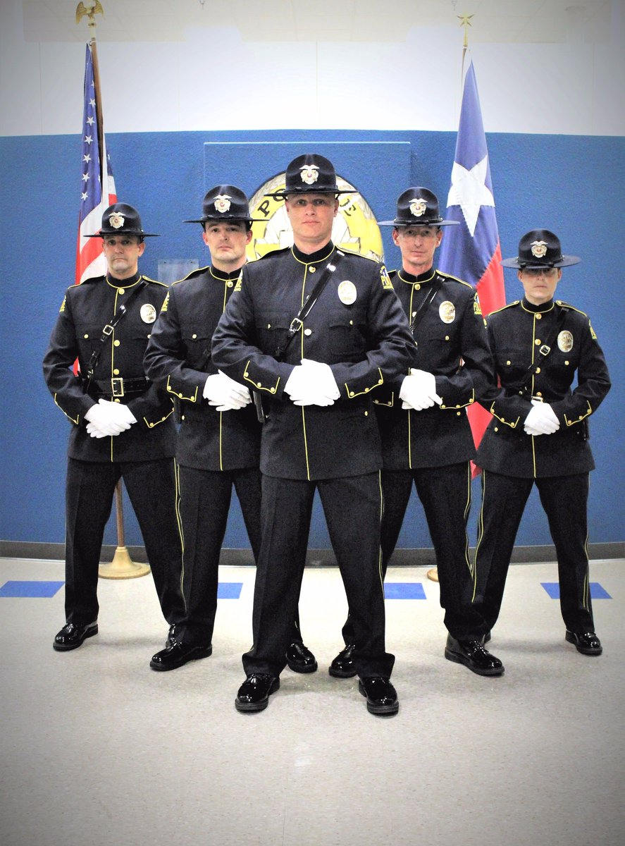 Very proud to introduce the inaugural Flower Mound Police Department Honor Guard!