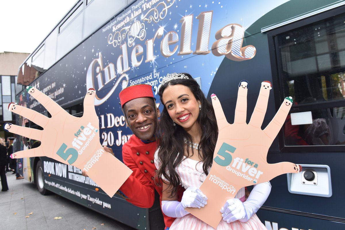 It&#39;s almost that time of year again, oh yes it is! #Cinderella doesn&#39;t need a glass carriage this year, she&#39;s travelling with #Buttons on a #Grouprider ticket - just £5 after 09:30 weekdays and all day weekends.  http:// nctx.co.uk/grouprider  &nbsp;  <br>http://pic.twitter.com/VYNGEKWgAX