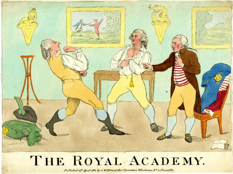 George, Prince of Wales,  taking lessons in the art of #boxing at #Windsor in 1786 <br>http://pic.twitter.com/uS5jElcZRX