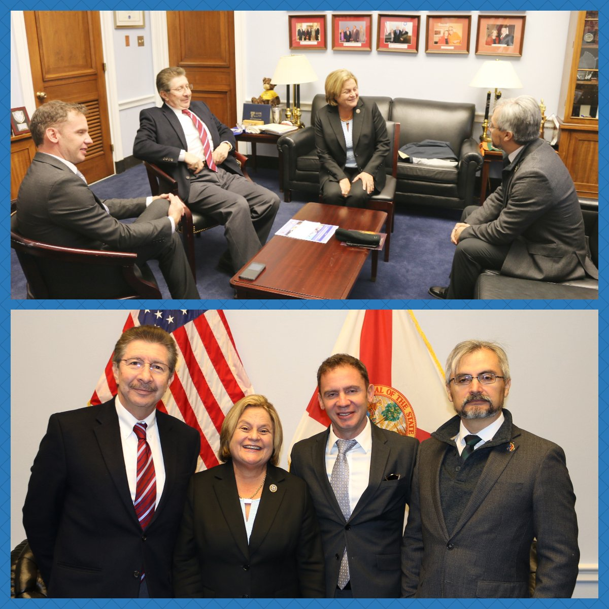 Met w/my constituent @Csanchezberzain who is among the many political exiles fleeing the corrupt #Morales regime in #Bolivia <br>http://pic.twitter.com/osmlFWoUqd