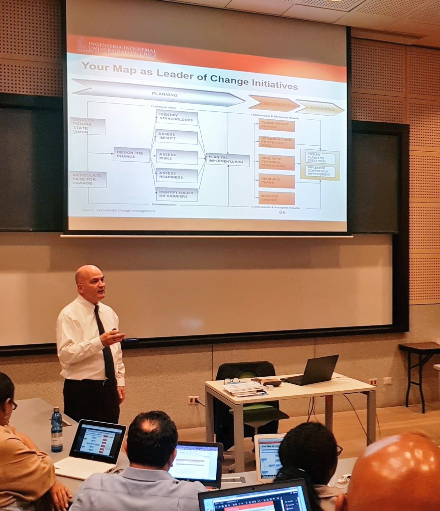 I feel like the exam went well, phew! The afternoon session on Leadership skills with Maestro Sebastian Conde is a practical session on leading change. The first slide is an example of how #ExxonMobil implemented change in their merger. <br>http://pic.twitter.com/qP90Hvj9cm