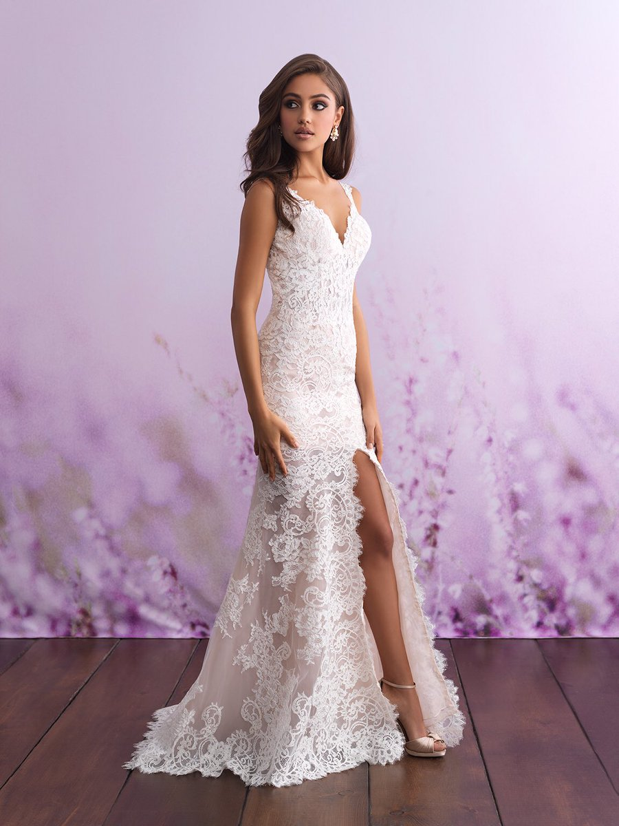 ffa2b322474 This gorgeous  AllureBridals gown just arrived at  RomashkaBridal today!   weddingdress  allurebridal  allurecouture  allureromance  wedding   seattlewedding ...
