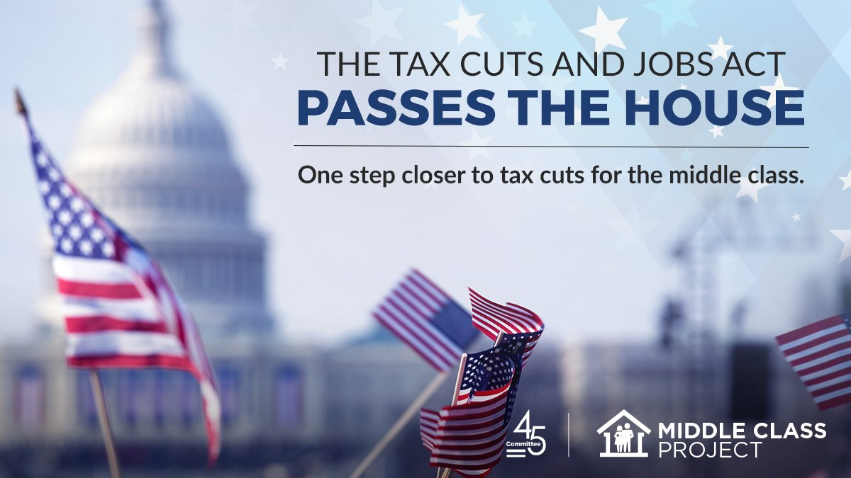 History in the #House as the Tax Cuts and Jobs Act passes! #Middleclass families are ready for #taxcuts!<br>http://pic.twitter.com/Miz2Qud879