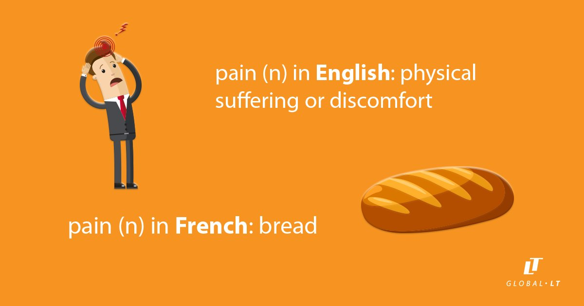 It's interesting when words are spelled the same in two languages... but with completely different meanings! https://t.co/3ZDtix5WRW
