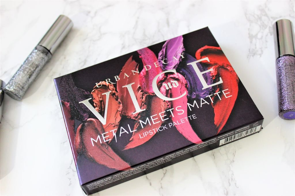 Urban Decay Vice Metal Meets Matte Lip Palette |Review &amp; Swatches |   https:// buff.ly/2zIoM1B  &nbsp;   #bbloggers #crueltyfree #lipstickismyvice #heavymetalholiday <br>http://pic.twitter.com/7SoDuMbRyI