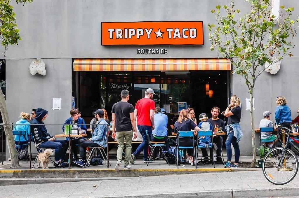 Image result for trippy taco