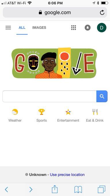 Happy 87th birthday, Chinua Achebe