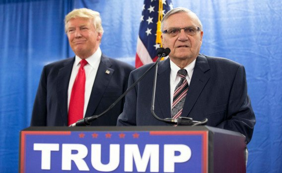 #Arpaio was pardoned after this segment.  https://www. youtube.com/watch?v=q-rZAV -zSMk   … pic.twitter.com/36wmJMihMk
